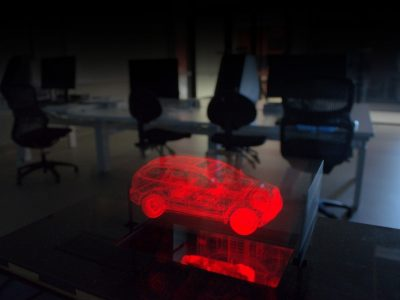 3D Volumetric Display Car