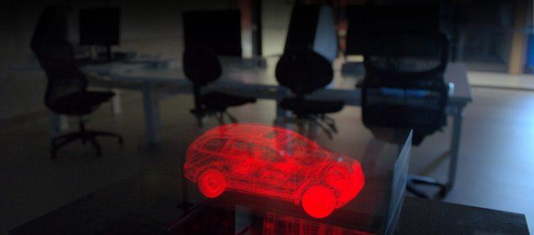 3D Volumetric Display Car