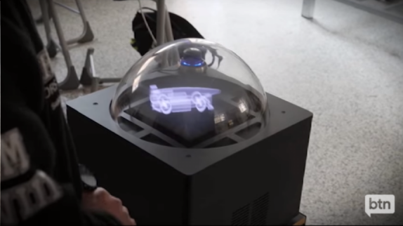 Holograms in schools
