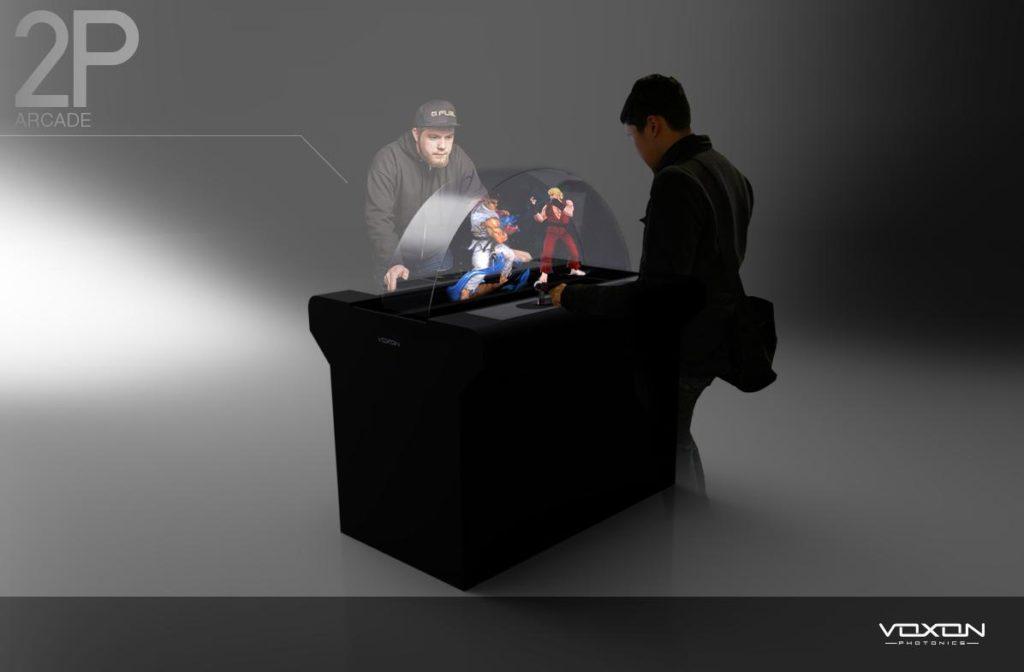 3D Volumetric Arcade
