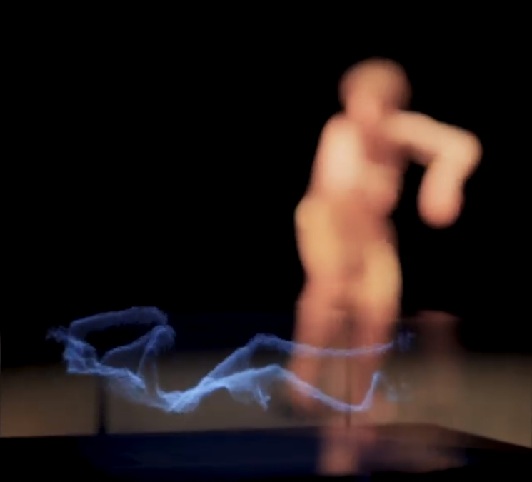 Volumetric dance